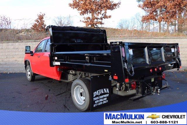 2020 Chevrolet Silverado 3500 Crew Cab DRW 4x4, Rugby Dump Body #T13737 - photo 1
