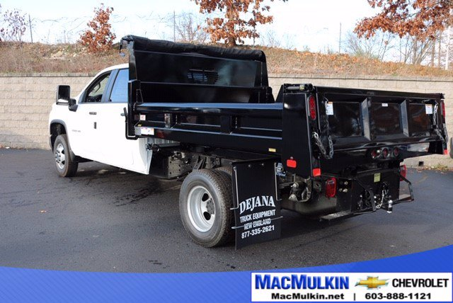 2020 Chevrolet Silverado 3500 Crew Cab DRW 4x4, Rugby Dump Body #T14286 - photo 1