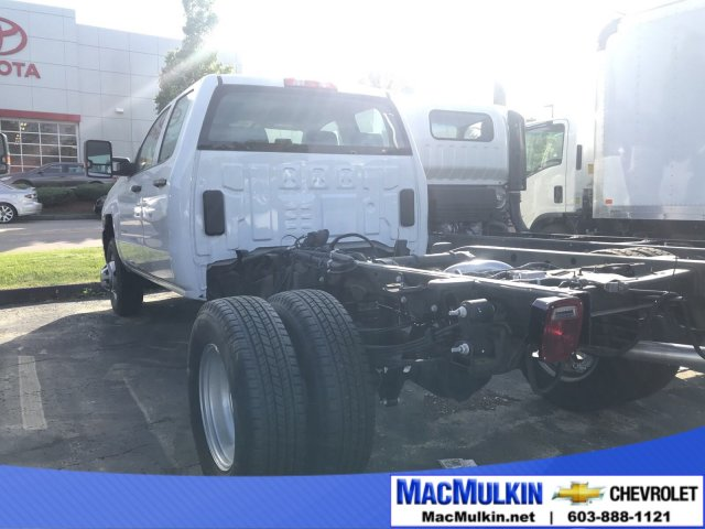 2018 Silverado 3500 Double Cab 4x2,  Cab Chassis #T6414 - photo 1
