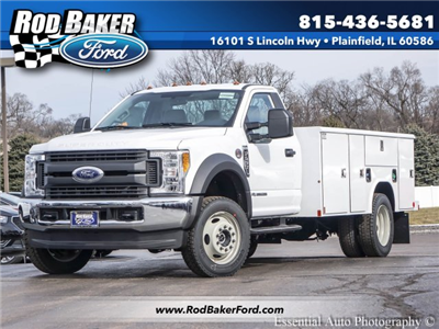 2017 F-450 Regular Cab DRW 4x4, Reading Classic II Steel Service Body #T17134 - photo 1