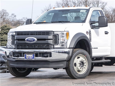 2017 F-450 Regular Cab DRW 4x4, Reading Classic II Steel Service Body #T17134 - photo 3