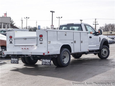 2017 F-450 Regular Cab DRW 4x4, Reading Classic II Steel Service Body #T17134 - photo 2