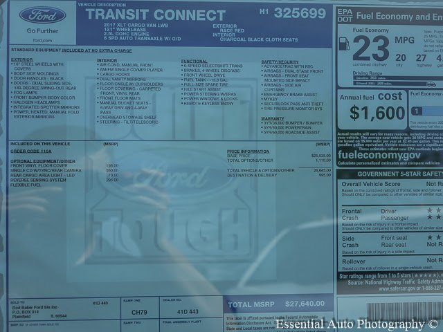 2017 Transit Connect, Cargo Van #T17351 - photo 10