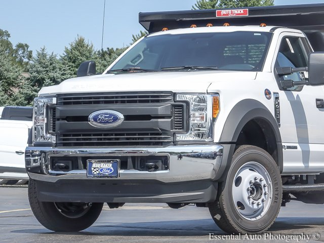 2017 F-450 Regular Cab DRW 4x4, Rugby Dump Body #T17549 - photo 3