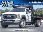 2017 F-450 Regular Cab DRW 4x4, Rugby Dump Body #T17549 - photo 1