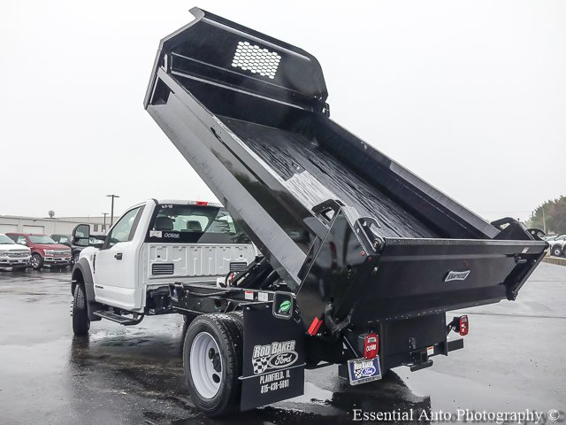 2017 F-450 Regular Cab DRW 4x4, Knapheide Dump Body #T17642 - photo 13