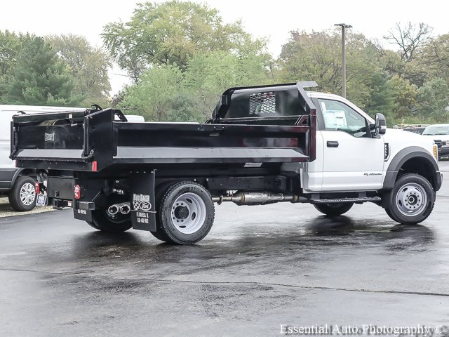 2017 F-450 Regular Cab DRW 4x4, Knapheide Dump Body #T17647 - photo 2