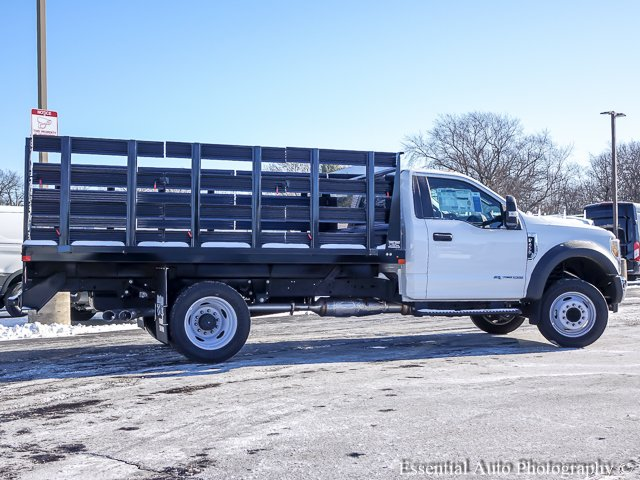 2017 F-450 Regular Cab DRW, Auto Truck Group Stake Bed #T17689 - photo 10