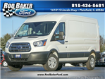 2018 Transit 250 Med Roof, Cargo Van #T18089 - photo 1
