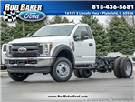 2018 F-550 Regular Cab DRW 4x4, Cab Chassis #T18263 - photo 1