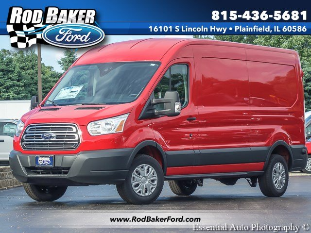 2018 Transit 250 Med Roof 4x2,  Empty Cargo Van #T18304 - photo 1