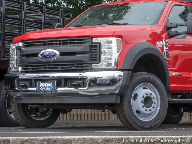 2018 F-450 Regular Cab DRW 4x2,  Monroe Versa-Line Stake Body Stake Bed #T18373 - photo 3