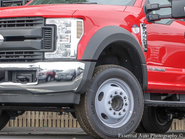 2018 F-450 Regular Cab DRW 4x2,  Monroe Versa-Line Stake Body Stake Bed #T18373 - photo 4