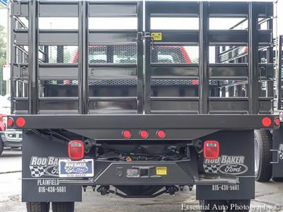 2018 F-450 Regular Cab DRW 4x2,  Monroe Versa-Line Stake Body Stake Bed #T18373 - photo 6