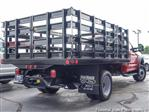 2018 F-450 Regular Cab DRW 4x2,  Monroe Versa-Line Stake Body Stake Bed #T18373 - photo 2