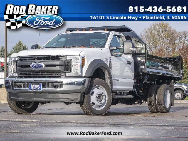 2019 F-450 Regular Cab DRW 4x4,  Knapheide Drop Side Dump Body #T19127 - photo 1