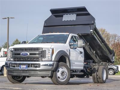 2019 F-450 Regular Cab DRW 4x4,  Knapheide Drop Side Dump Body #T19127 - photo 3