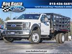 2019 F-450 Regular Cab DRW 4x2,  Knapheide Cargo-Hauler Platform Body #T19165 - photo 1