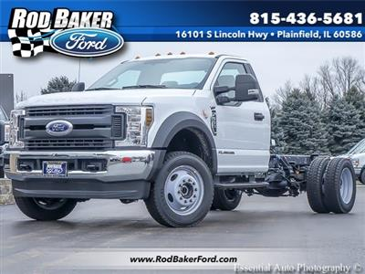 2019 F-550 Regular Cab DRW 4x4,  Cab Chassis #T19194 - photo 1