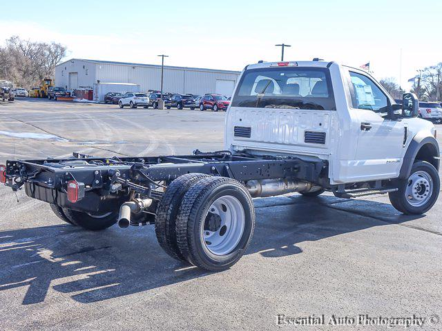 2021 Ford F-550 Regular Cab DRW 4x4, Cab Chassis #T21143 - photo 1