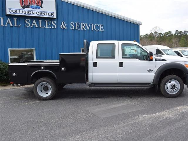 2016 F-550 Crew Cab DRW 4x4, Knapheide Platform Body #27572 - photo 3