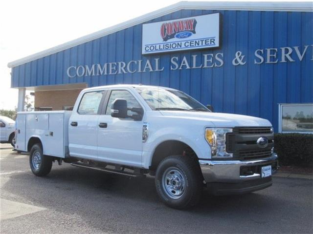 2017 F-350 Crew Cab 4x4, Reading Classic II Steel Service Body #28221 - photo 1