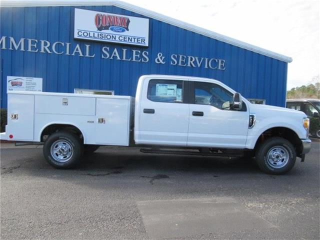 2017 F-350 Crew Cab 4x4, Reading Classic II Steel Service Body #28221 - photo 3