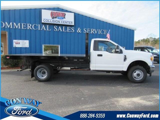 2017 F-350 Regular Cab DRW 4x4, Knapheide Heavy-Hauler Junior Platform Body #28338 - photo 3