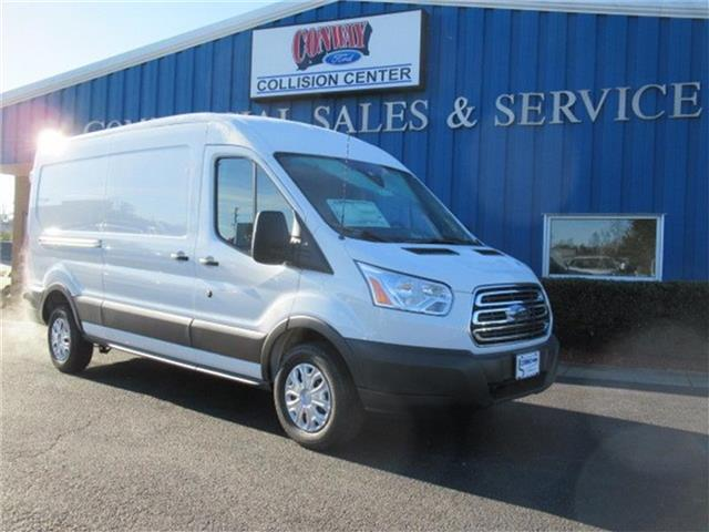 2018 Transit 250 Med Roof 4x2,  Empty Cargo Van #28355 - photo 1
