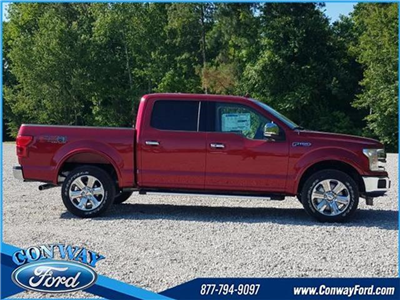 2018 F-150 SuperCrew Cab 4x4, Pickup #28674 - photo 3