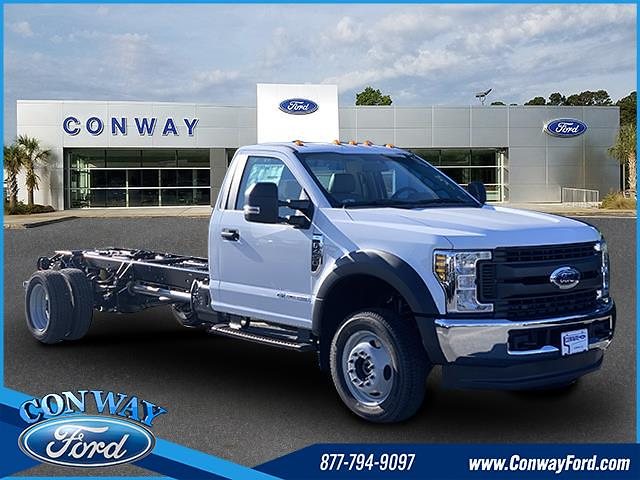 2019 Ford F-450 Regular Cab DRW 4x4, Cab Chassis #30016 - photo 1