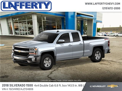 2018 Silverado 1500 Extended Cab 4x4 Pickup #T1148 - photo 2