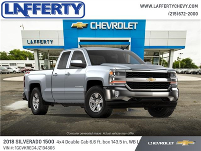 2018 Silverado 1500 Extended Cab 4x4 Pickup #T1148 - photo 4