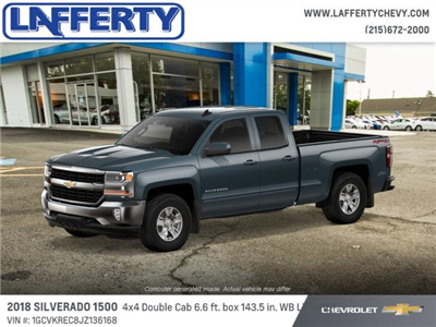 2018 Silverado 1500 Extended Cab 4x4 Pickup #T1152 - photo 1