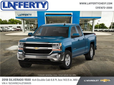 2018 Silverado 1500 Extended Cab 4x4 Pickup #T1153 - photo 1