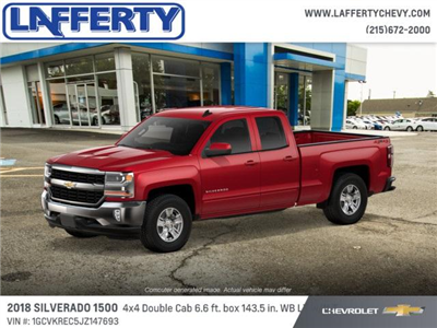 2018 Silverado 1500 Extended Cab 4x4 Pickup #T1215 - photo 2