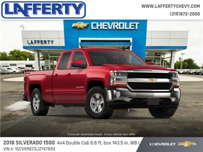 2018 Silverado 1500 Extended Cab 4x4 Pickup #T1215 - photo 4