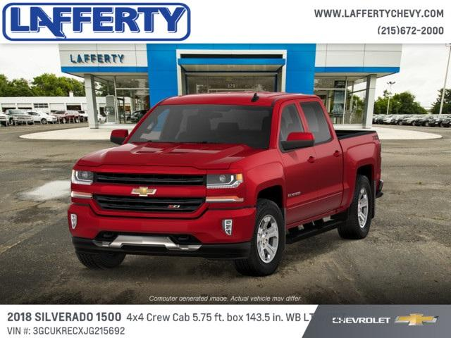 2018 Silverado 1500 Crew Cab 4x4 Pickup #T1229 - photo 1
