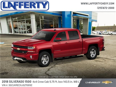 2018 Silverado 1500 Crew Cab 4x4 Pickup #T1229 - photo 2