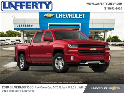 2018 Silverado 1500 Crew Cab 4x4 Pickup #T1229 - photo 4