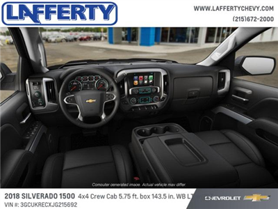 2018 Silverado 1500 Crew Cab 4x4 Pickup #T1229 - photo 5