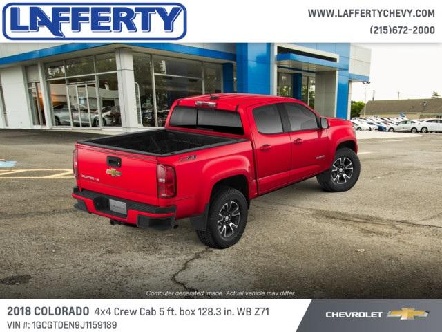 2018 Colorado Crew Cab 4x4,  Pickup #T1235 - photo 2