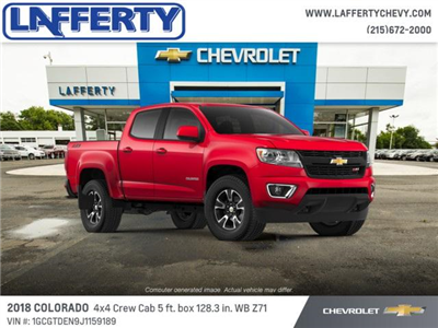 2018 Colorado Crew Cab 4x4,  Pickup #T1235 - photo 1