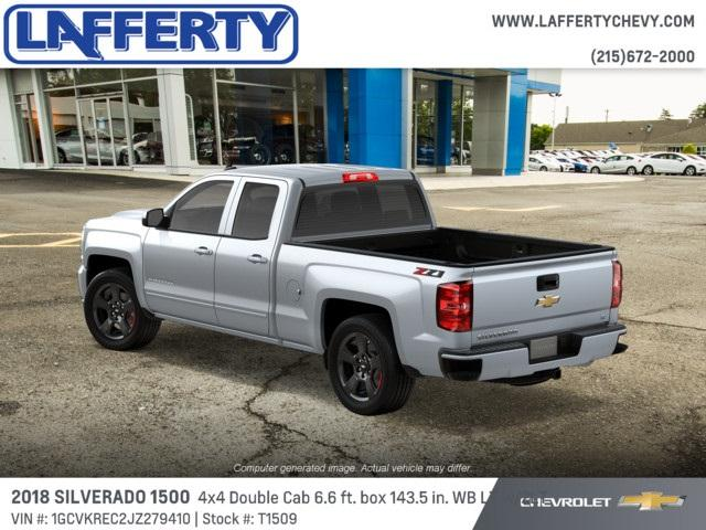 2018 Silverado 1500 Double Cab 4x4, Pickup #T1509 - photo 2