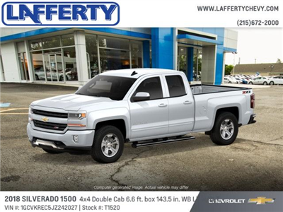 2018 Silverado 1500 Double Cab 4x4,  Pickup #T1520 - photo 3