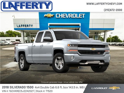 2018 Silverado 1500 Double Cab 4x4,  Pickup #T1520 - photo 4