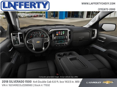 2018 Silverado 1500 Double Cab 4x4,  Pickup #T1532 - photo 5