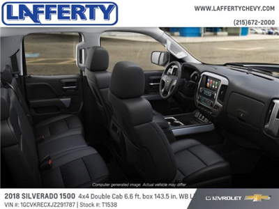 2018 Silverado 1500 Double Cab 4x4, Pickup #T1538 - photo 6