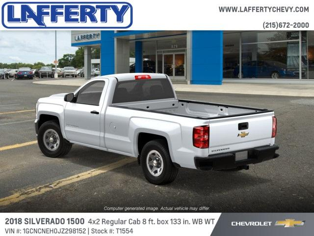 2018 Silverado 1500 Regular Cab 4x2,  Pickup #T1554 - photo 2