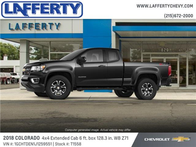 2018 Colorado Extended Cab 4x4,  Pickup #T1558 - photo 3